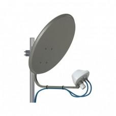 UMO-3 MIMO 2*2 - облучатель LTE1800/3G/LTE2600 MIMO 2x2/50 Ом/2*N-female