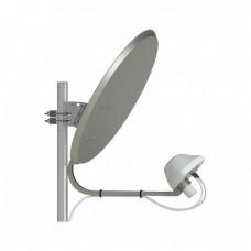 UMO-3F MIMO 2*2 - облучатель LTE1800/3G/LTE2600 MIMO 2x2/75 Ом/2*F-female