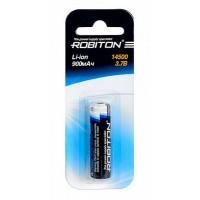 акк. ROBITON Li14500 900мАч с защитой BL1