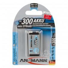 акк. ANSMANN  maxE 9V 300mAh 5035453