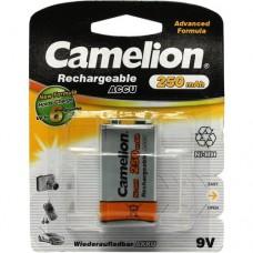 акк. Camelion 9V 250mAh-NiMh BL-1