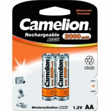 акк. Camelion AA 2000mAh-NiMh BL-2