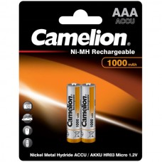 акк. Camelion AAA 1000mAh-NiMh BL-2