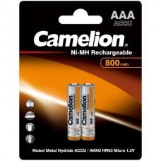 акк. Camelion AAA 800mAh-NiMh BL-2