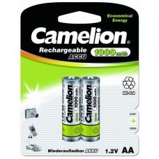 акк. Camelion AA 1000mAh-Ni-Cd BL-2