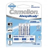 акк. Camelion AA 2300mAh-NiMh Always Ready BL-2