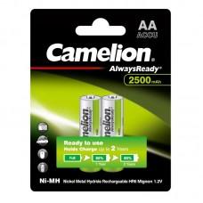 акк. Camelion AA 2500mAh-NiMh Always Ready BL-2