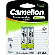 акк. Camelion AA 600mAh-NiCd BL-2