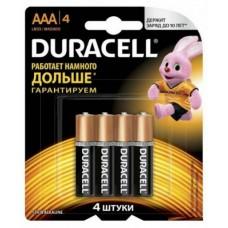 эл. пит. Duracell LR03 new (BL-4)