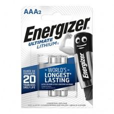эл. пит. Energizer FR03 Ultimate Lithium BL-2
