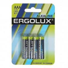 эл. пит. Ergolux LR03 Alkaline BL-4
