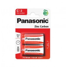 эл. пит. Panasonic R14 Zinc Carbon (BL-2)