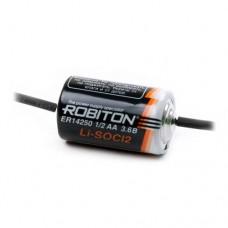 элемент ROBITON  ER 14250 (1/2AA) c аксиальными выводами