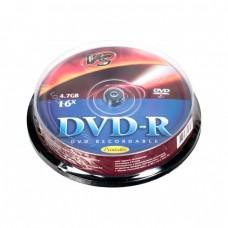 компактдиск VS DVD-R 4,7 GB 16x CB/10 Ink Print