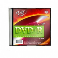 компактдиск VS DVD-R 4,7 GB 16x, Slim/5
