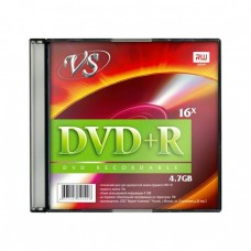 компактдиск VS DVD+R 4,7 GB 16x, Slim/5