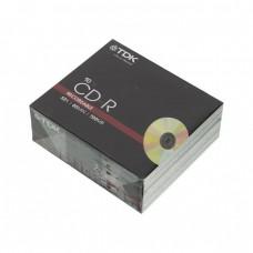 компактдиск TDK CD-R 80 52x, SlimCase/10