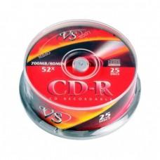 компактдиск VS CD-R 80 52x Cake box/25