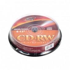 компактдиск VS CD-RW 80 (4-12x) (16-24х) Cake Box/10