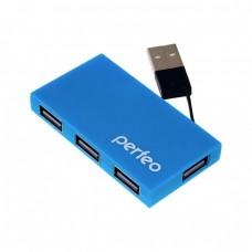 Хаб USB Perfeo 4 Port, (PF-VI-H023)