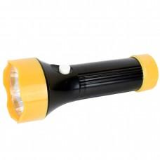 фонарь Ultraflash 5002-ТН (черный, 4LED, 1 реж., 3XR03, пласт)