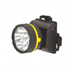 фонарь Ultraflash 909LED5 (налобный черный, 5LED, 1 реж., 3XR6, пласт)