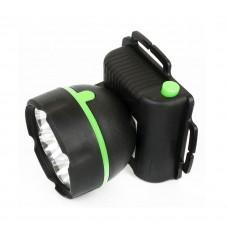 фонарь Ultraflash 909LED7 (налобный черный, 7LED, 1 реж., 3XR6, пласт)