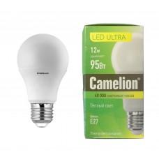 Camelion LED12-A60-D/830/E27 ULTRA (12Вт=95Вт 220В)