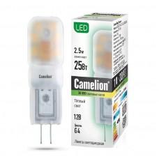 Camelion LED2.5-JC-SL/830/G4 Basic МИНИ (2.5Вт 12В)