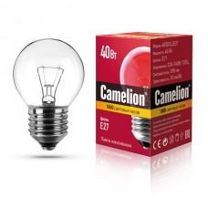 лампа MIC Camelion 40/D/CL/E27 (шарик, прозрачная)