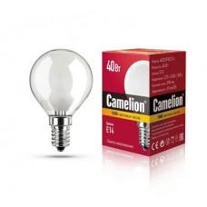 лампа MIC Camelion 40/D/FR/E14 (шарик, матовая)