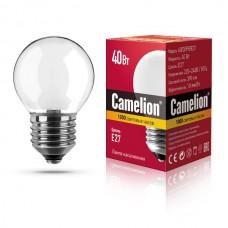 лампа MIC Camelion 40/D/FR/E27 (шарик, матовая)