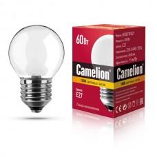 лампа MIC Camelion 60/D/FR/E27 (шарик, матовая)
