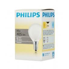 лампа Philips 40P45/FR/E14 (шар матовый)