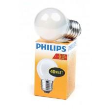 лампа Philips 40P45/FR/E27 (шар матовый)
