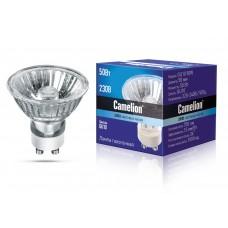 лампа Camelion GU10 50W 220V (с защ.стеклом,2000часов)