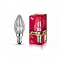 Camelion DP-704 BL-4/40 лампа накал. для ночник., прозрач., 220V, 7W, E14