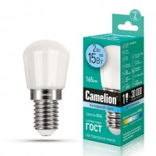лампа Camelion LED2-T26/845/E14 (Светодиодная, 2Вт,д/холодильника)