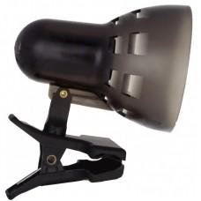 светильник Camelion KD-304 черный (прищепка,б/лампы 230V40W)