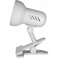 светильник Camelion Н-035 белый (прищепка,металл 230V60W Е27)