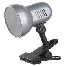 светильник Camelion Н-035 серебро (прищепка,металл 230V60W Е27)