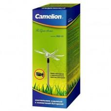 Camelion SGD-03 Стрекоза (1LED), светильник с солнечной батареей (NEW)