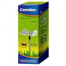 Camelion SGD-04 Бабочка (1LED), светильник с солнечной батареей (NEW)