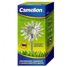 Camelion SGD-06 Подсолнух (1LED), светильник с солнечной батареей (NEW)