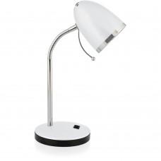 светильник Camelion KD-308 белый (настольный, 230V40W Е27)