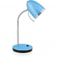 светильник Camelion KD-308 голубой (настольный, 230V40WЕ27)