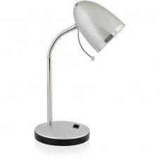 светильник Camelion KD-308 серебро (настольный ,230V40W Е27)